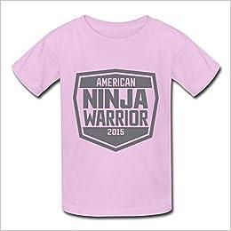 Amazon.com: Boys&Girls Screw Neck American Ninja Warrior ...