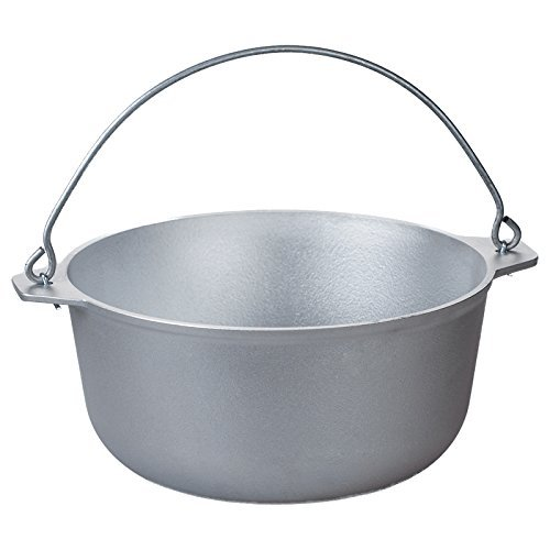 Free2Buy Cast Aluminum Outdoor Cooking Campfire/Stove Pot 2/5/10 Quart Dutch Oven with Lid