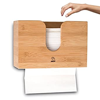 Bamboo Fold Paper Towels Dispenser For Commercial Multifold Paper