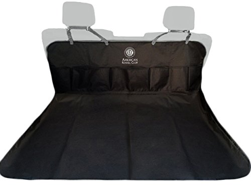American Kennel Club AKC 2 in 1 car seat cover with 5 Pockets by American Kennel Club