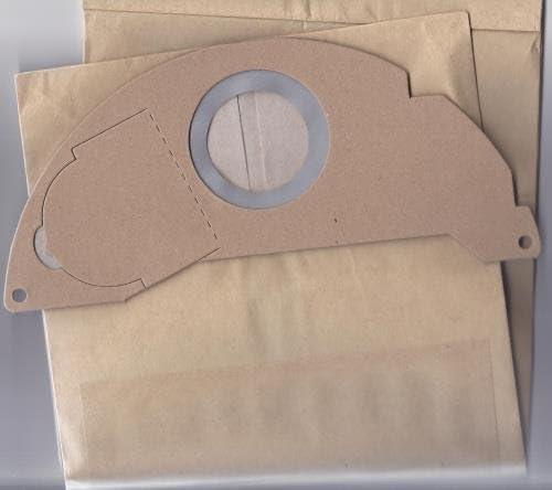 Bolsa para aspirador KARCHER, K2501 K2601 K3001/////3001PLUS NT181 PUZZI 906904.143.0, lote de 5, diseño de bolso: Amazon.es: Hogar