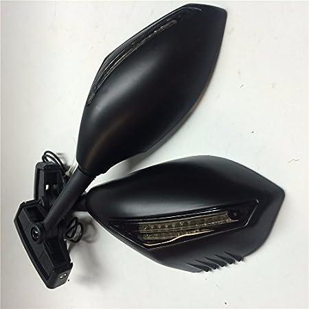 Turn Signal Mirror fit for Kawasaki Ninja 500 ZX7R ZX6R ER6F 636 Z750 CHROME New