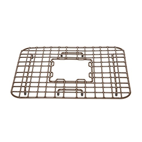 - Sinkology SG002-14 Gehry Copper Bottom Grid Heavy Duty Vinyl Coated Kitchen Sink, Antique Brown