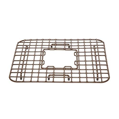 (Sinkology SG002-14 Gehry Copper Bottom Grid Heavy Duty Vinyl Coated Kitchen Sink, Antique Brown)