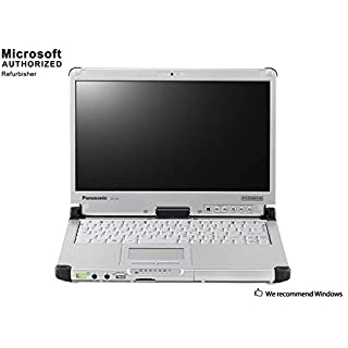 Panasonic Toughbook CF-C2 12.5 Inch Laptop , Intel Core i5 4300U up to 2.9GHz, 4G DDR3L, 240G SSD, WiFi, USB 3.0, VGA, HDMI, Windows 10 64 Bit-Multi-Language, English/Spanish/French(CI5)(Renewed)