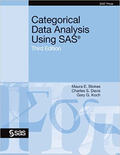 Categorical Data Analysis Using The Sas System Pdf