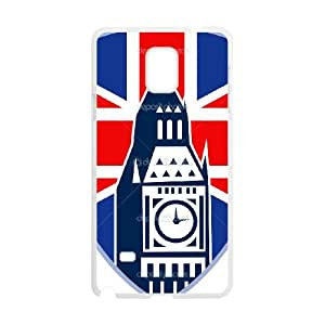 British Flag Samsung Galaxy Note 4 Cell Phone Case White persent xxy002_6065962
