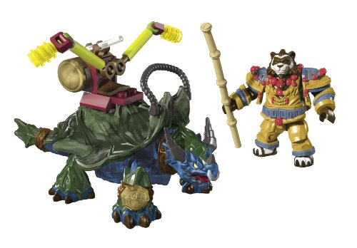 Image of Mega Bloks World of Warcraft Dragon Turtle and Windpaw
