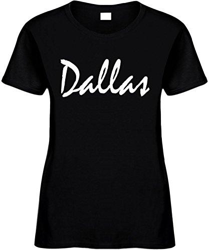 Signature Depot Women's Size XL T-Shirt (DALLAS (TEXAS)) Ladies Shirt