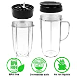 Tanzfrosch 22oz+16oz Cups with Flip Top Lid and