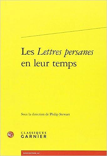 Livre gratuits Les Lettres Persanes en leur temps pdf ebook