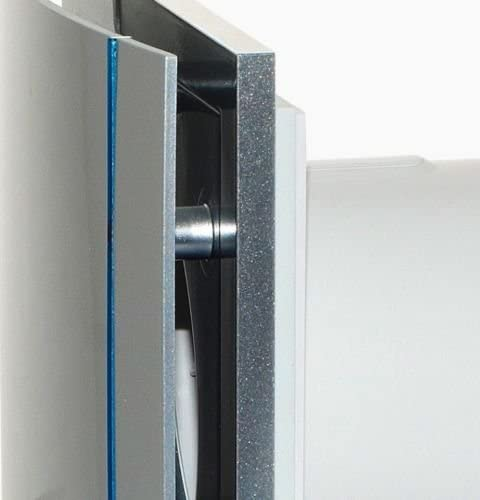 diam 100mm. Soler /& Palau; SILENT-100 CRZ DESIGN SILVER; Ultra-extractor design silver adjustable timer