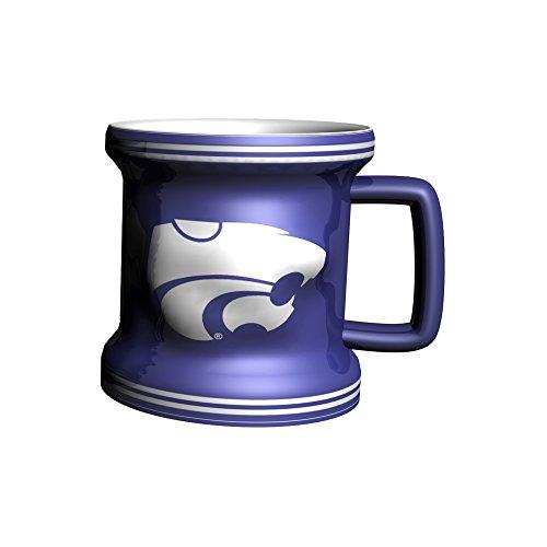 NCAA Kansas State Wildcats Sculpted Mini Mug, 2-ounce