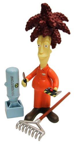 The Simpsons Series 9 Playmates Action Figure Prison Sideshow Bob