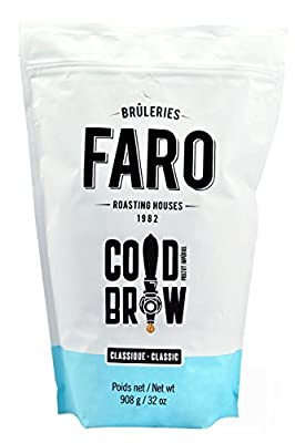 Faro Roasting House Imperial Project Blend, Cold Brew Whole Beans Coffee Blend, 2 lbs