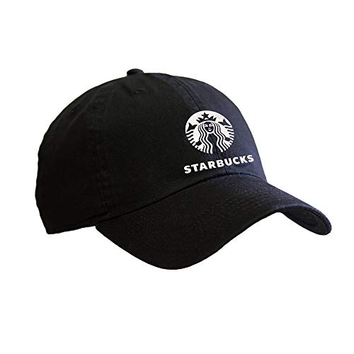Barista with Starbucks Letter Soft Metallic Foil Design Baseball Cap]()