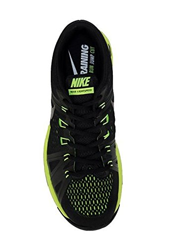 Nike Reax Lightspeed, Zapatillas de Senderismo para Hombre Negro (Black / Black-Volt)