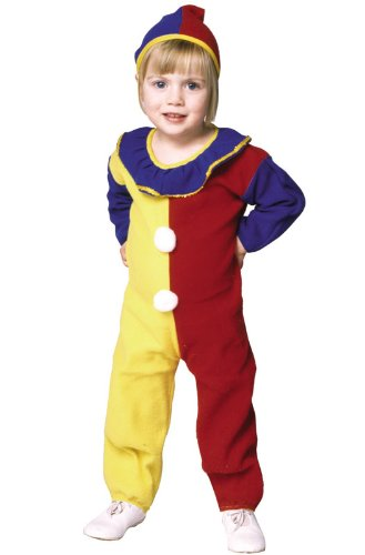 Clown Pajama Infant & Toddler Costume
