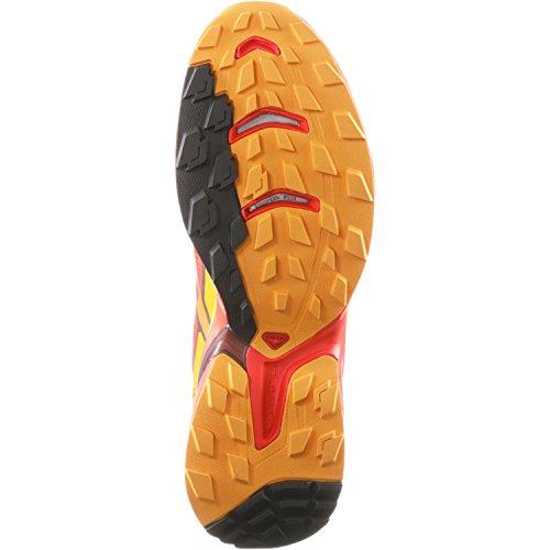 Salomon Wings Pro 2, Scarpe da Corsa Uomo tomato red-clementine-x-yellow-gold