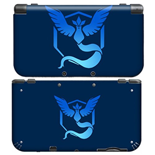 POKEMON TEAM MYSTIC for New Nintendo 3DS XL Skin Vinyl Decal Stickers (Pokemon Sun And Moon 3ds Vs New 3ds)