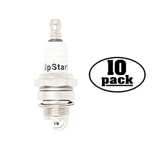 10-Pack Compatible Spark Plug for 1956 Plymouth Fury 4.5L V8 276cid - Compatible Champion CH7Y & NGK BPM7 / BPM7A Spark Plugs