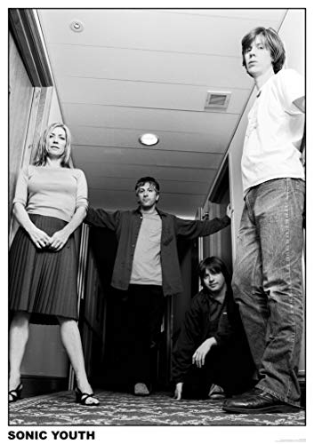 Art-I-Ficial Sonic Youth Amsterdam Indie Music Photo Band Album Rock Music Vintage Style Poster 33x23.5 inch