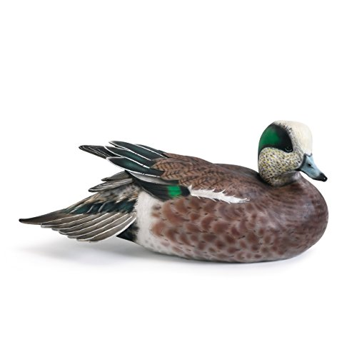 - Wigeon 13 x 6 inch Limited Edition Collector's Item Wooden Decoy