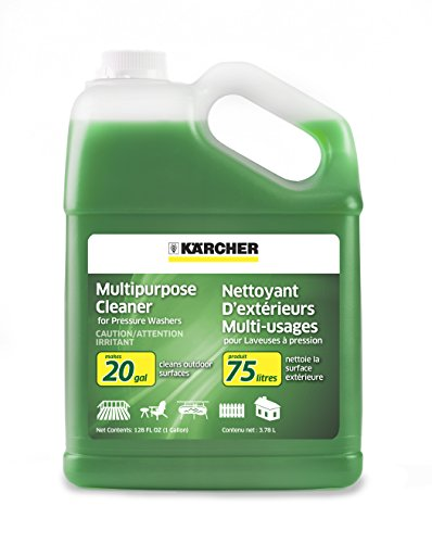 Karcher Multi-Purpose Cleaning Pressure Power Washer Detergent Soap, 1 Gallon (Gallons Electric Parts Washer)
