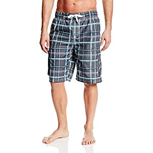 Kanu Surf Men's Miles Swim Trunks (Regular & Extended Sizes)