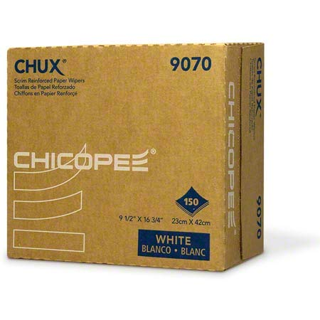 Chix Chicopee Chux Light-Duty General Purpose Towels, White CHI9070