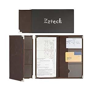 zzteck car registration holder for insurance card documents auto organizer luxury pu. Black Bedroom Furniture Sets. Home Design Ideas