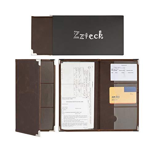 miyo car registration holder for car insurance card and vehicle paperwork car document holder. Black Bedroom Furniture Sets. Home Design Ideas