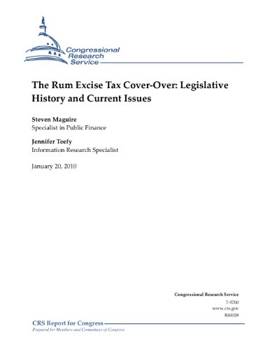 Puerto Rico Usa Rum (The Rum Excise Tax Cover-Over: Legislative History and Current Issues)