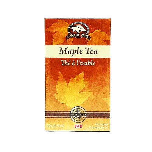 Canada True Maple Tea 25 Tea Bags, 50g (1.75oz), Product of Canada (Maple Tea Canada)