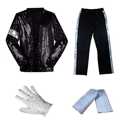 Michael Jackson Billie Jean Cosplay Costume Set