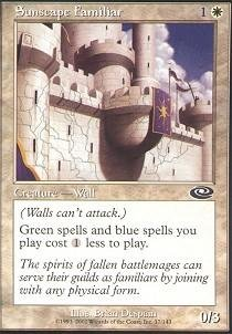 Magic: the Gathering - Sunscape Familiar - Planeshift ()