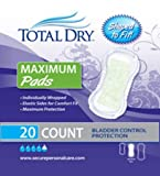 Secure Personal Care Products TotalDry Bladder Control Pad - SP1573CS - 180 Each / Case