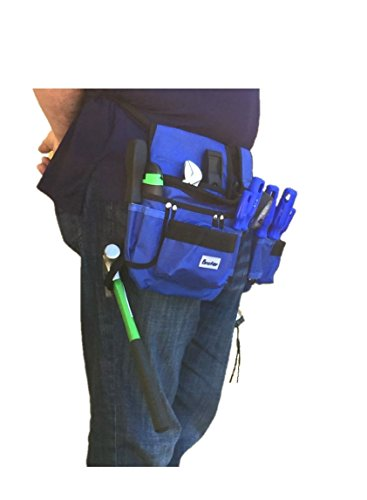 BRUFER 210412 Multi-tool Pouch Belt Tool Holder Organizer for Tools with 26 Pockets, 2 Hammer Loops and 1 Measuring Tape Holder by BRUFER Quality Products (Image #3)