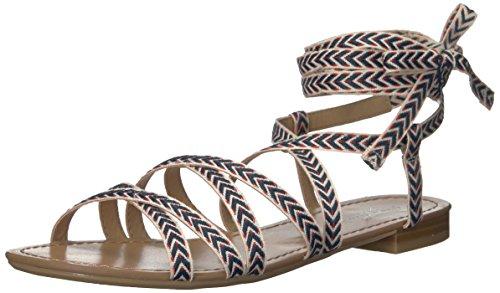 Kalle Det Våren Kvinners Afauma Gladiator Sandal Navy Multi