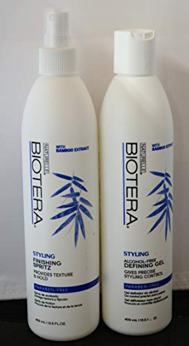 (Biotera Alcohol Free Gel (13.5oz) & Styling and Finishing Spritz (13.5oz))