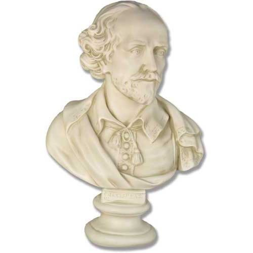XoticBrands OSFDS432 Shakespeare 23-Historical Figures Busts