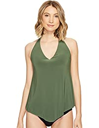 Solids Taylor Wire-Free Tankini Top
