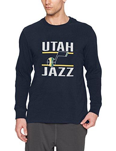 NBA Utah Jazz Men's Ots Rival Long sleeve Tee, XX-Large, Fall Navy ()
