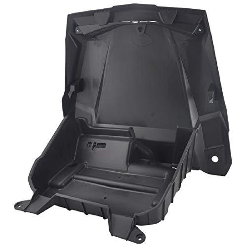 Set of Underhood Storage Box, ISSYZONE Polyethylene Storage Box and RZR Hood Scoop Replacement for Polaris RZR XP 1000 XP Turbo RZR 900 RZR 4 900 RZR S 1000 XP 4 2016 2017 2018