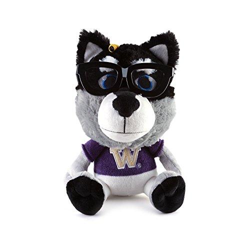 Fabrique Innovations NCAA Study Buddy Mascot Plush Toy, Washington Huskies