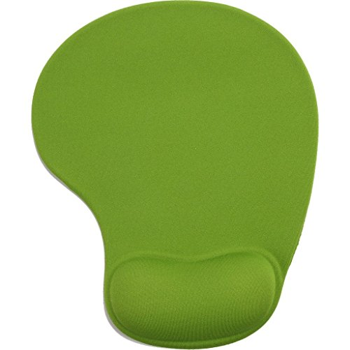 1 PC Vanki Silicone Comfort Wrist Rest Support Mouse Pad Mat,Green