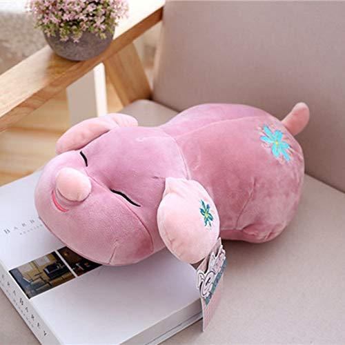 DONGER Hundefigur Schwein Schwein Spielzeug Hund Puppe Mädchen, Lila, 35 cm B07MCSNR16 Plüschtiere  Neuer Markt | Angenehmes Gefühl