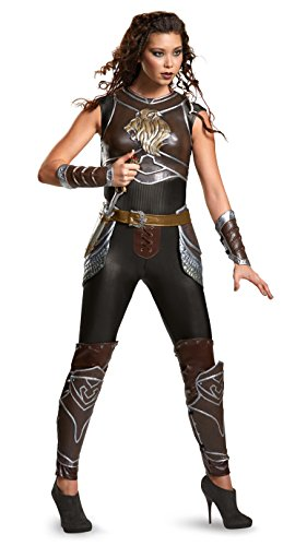 Disguise Women's Warcraft Garona Prestige Costume, Multi, Medium -
