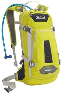 Camelbak Men's M.U.L.E. Hydration Pack (100-Ounce/580 Cubic-Inch, Citronelle/Dark Navy)