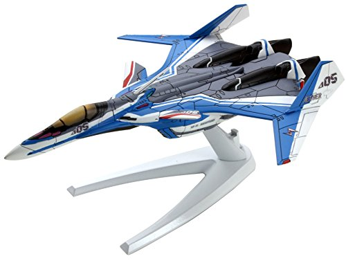 Mecha Collection Macross Series Macross Delta VF-31J Siegfried Fighter Mode Hayate Immelman Type Plastic Model Complete Figure Airplane Aircraft Arad Molders Plane Plastic Toy Bandai - Macross Valkyrie Collection